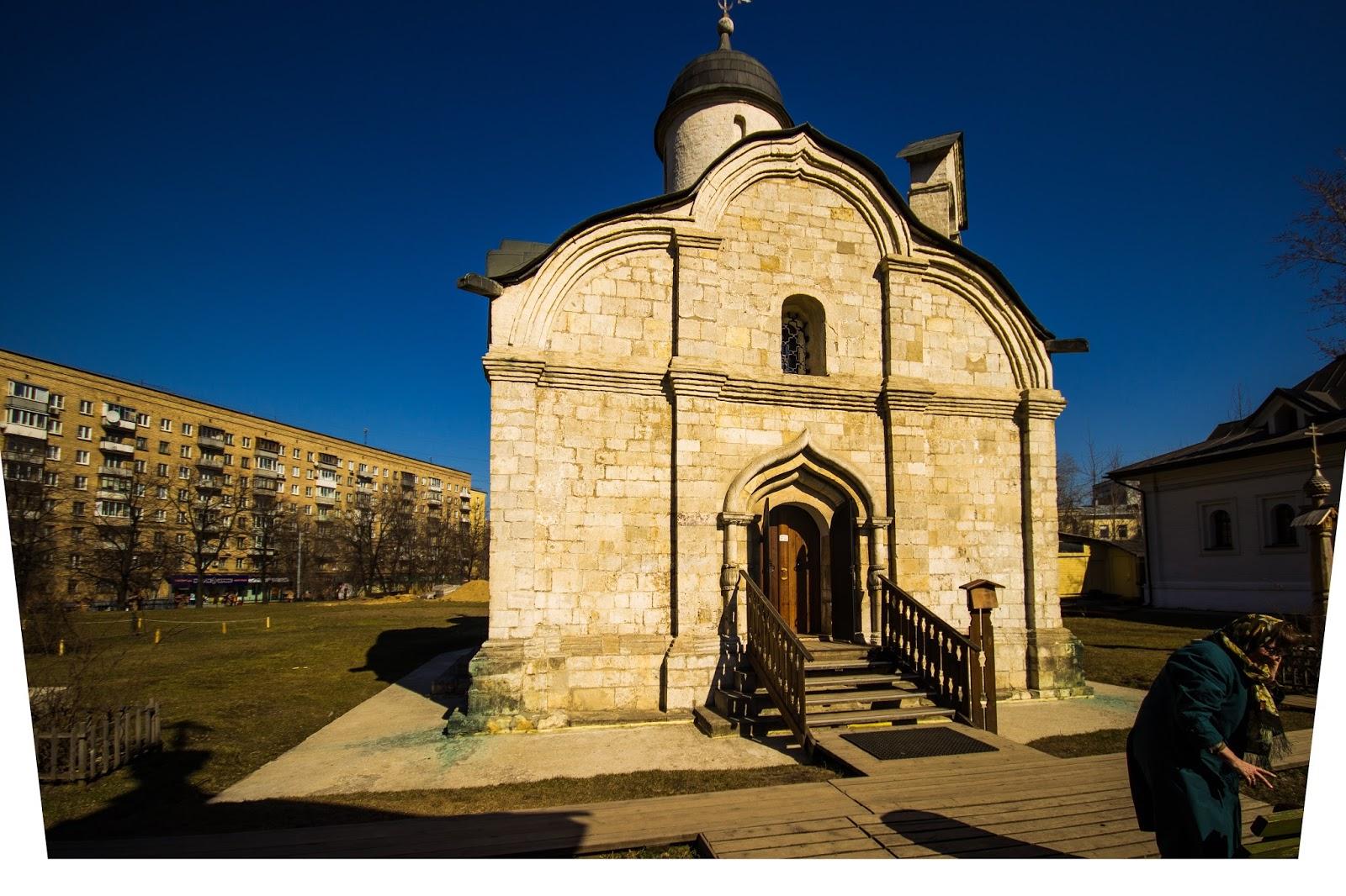 Московская церковь св Трифона в Напрудном